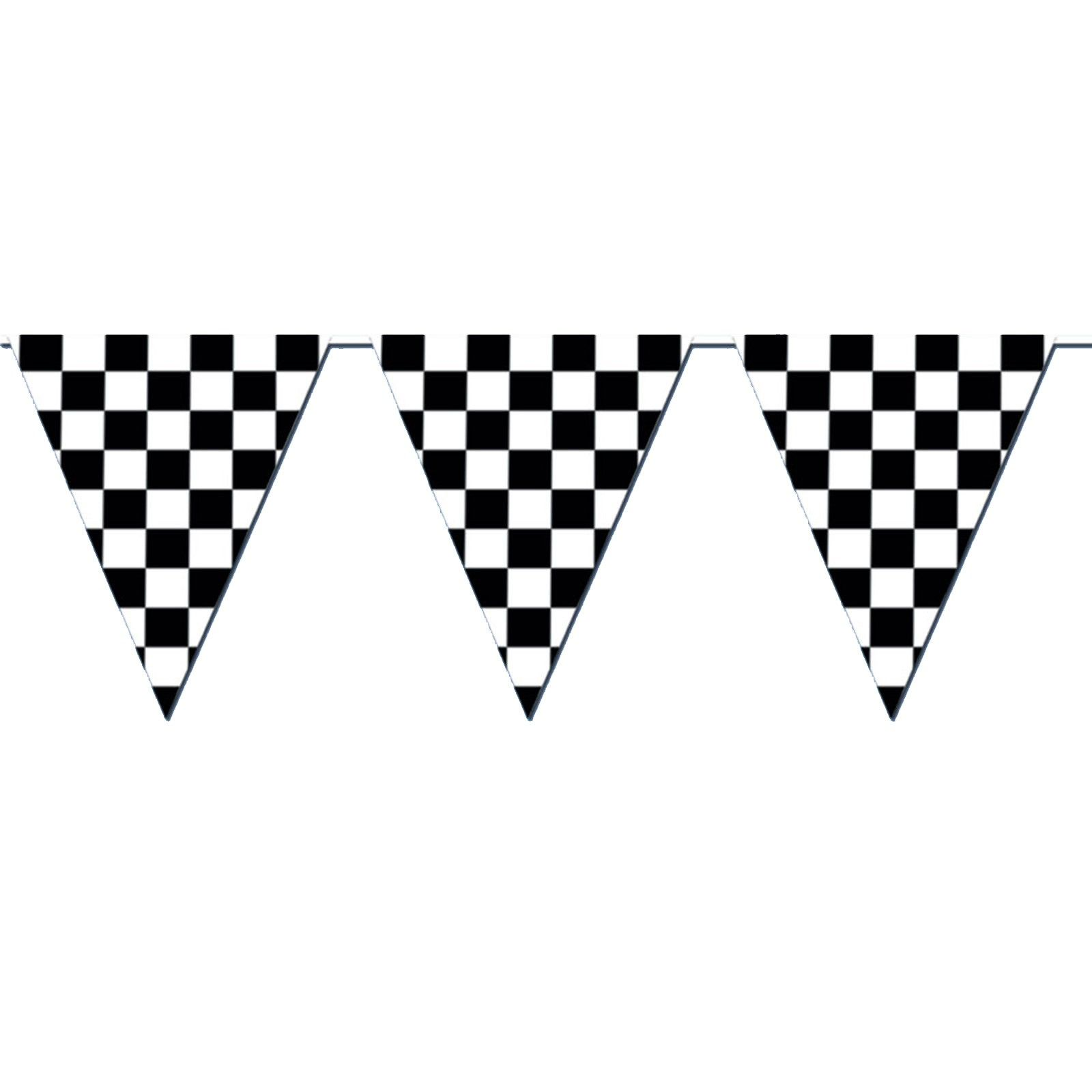 120 Checkered Outdoor Pennant Banner Banderines De Carreras Carreras De Autos Cumpleanos De Coches De Carreras