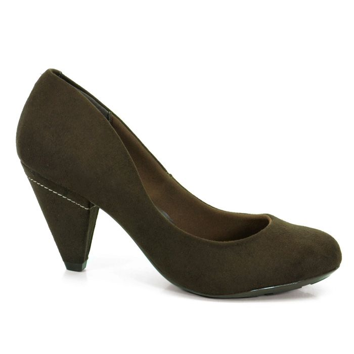 Sapato Salto Médio Feminino Beira Rio confeccionado em