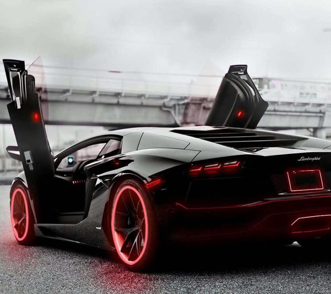 Aventador Red Accents Sports Cars Luxury Lamborghini Cars Lamborghini Aventador Wallpaper