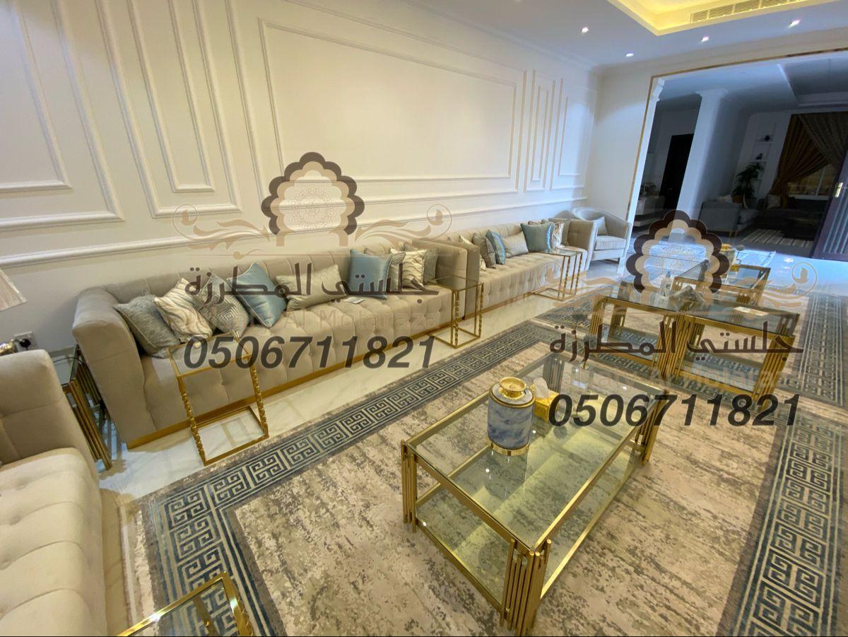 كنب نيو كلاسيك روعة من تصميم وتنفيذ جلستي المطرزة جوال التواصل 0506711821 Mirror Decor Living Room Mirror Decor Living Decor