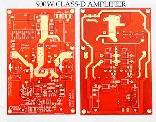 CLASS-D Power Amplifier D900 IR2110 - SMD in 2019   Class-D