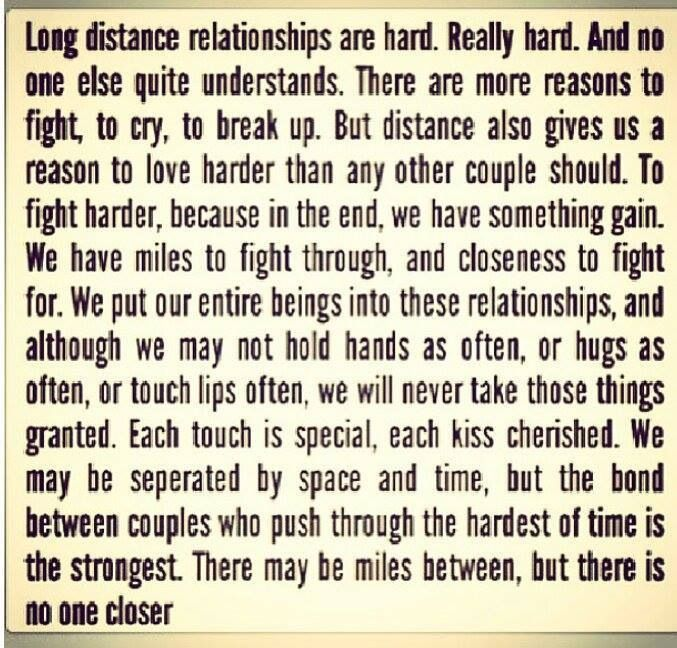 How to handle long distance relationship fights