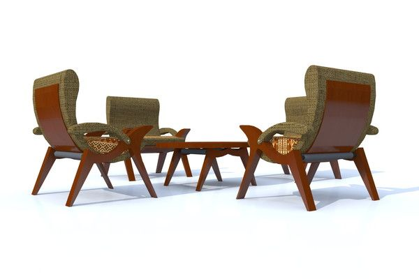 Meeting Dining Home concept Gitan armchairs
