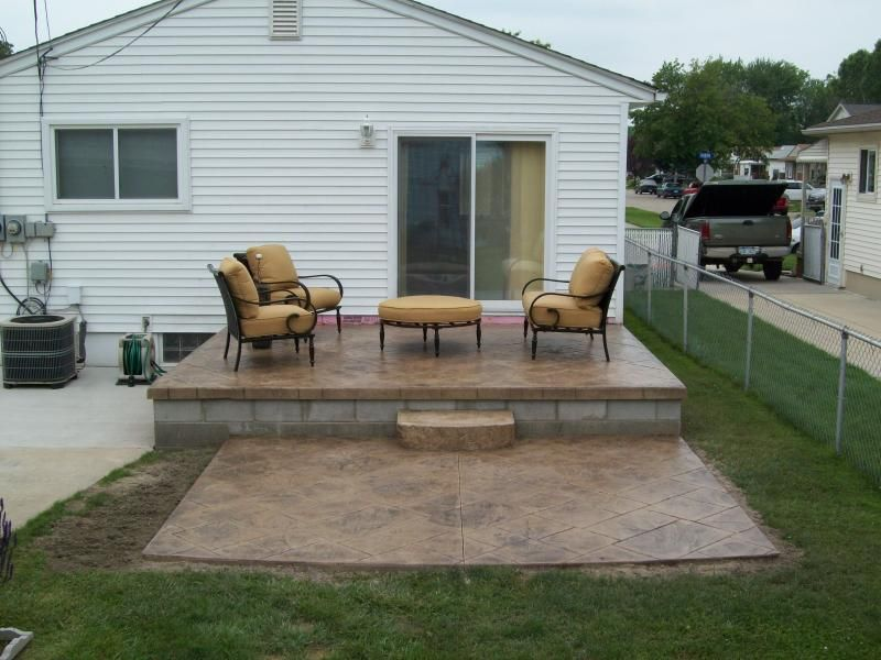 Amazing Concrete Patio Ideas Diy Landscaping Gardening 10x10 Lovable Diy Hacien Concrete Patio Designs Concrete Backyard Diy Patio