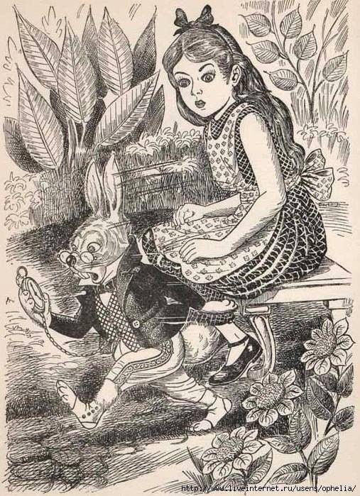 алиса в стране чудес викторианская эпоха открытки служил писарем сельском