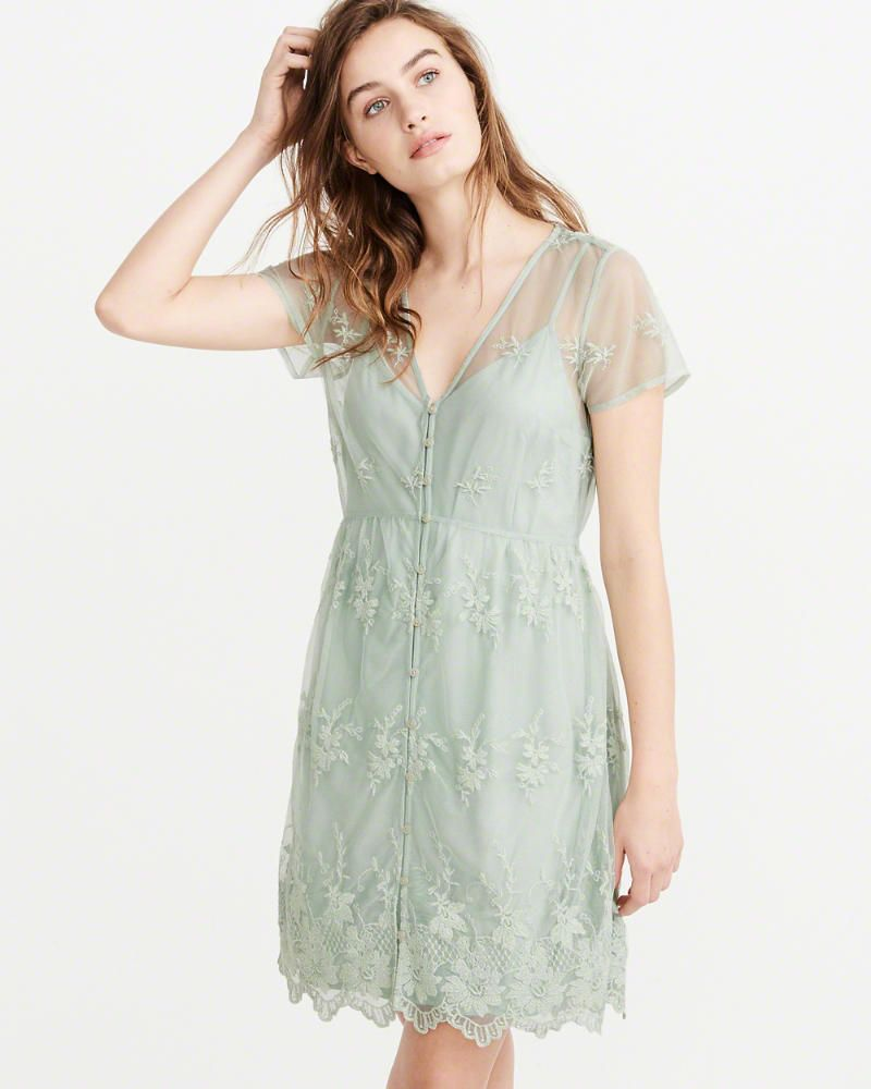 ba7f437aae1 Overalls. Romper. Romper Outfit. product image Lace Dress With Sleeves