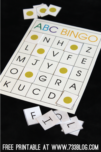 Tactueux image for abc bingo printable