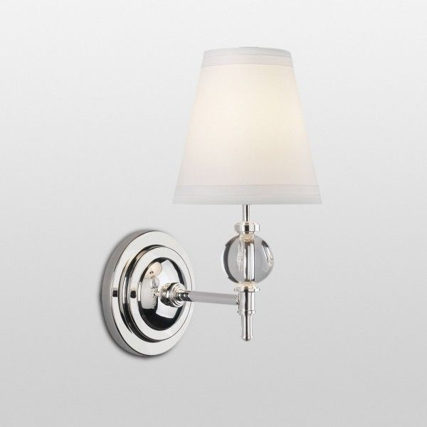 Crystal Ball Sconce | Wall sconces, Traditional wall ... on Crystal Bathroom Sconces id=54946