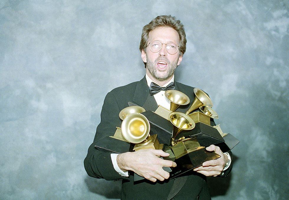 IlPost - Eric Clapton, 1993 (AP Photo/Douglas C. Pizac) - Eric Clapton, 1993  (AP Photo/Douglas C. Pizac)