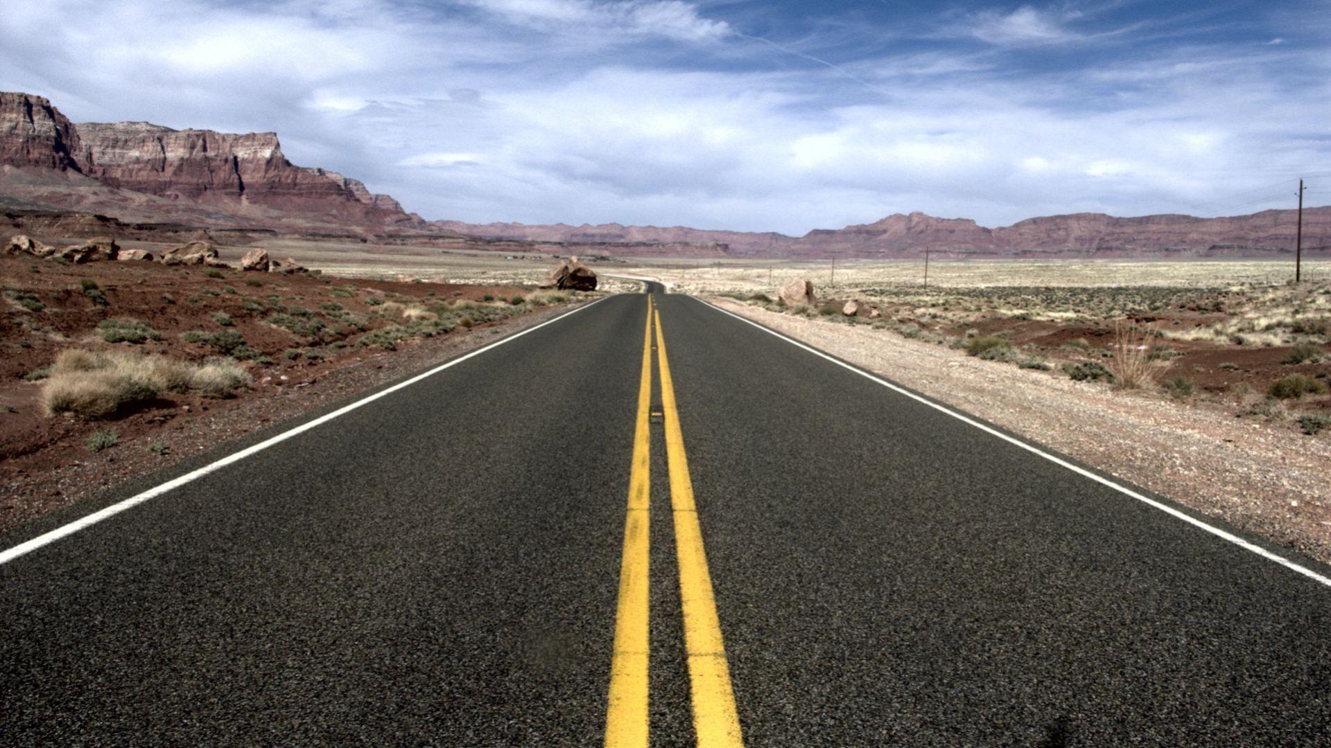 Road In Arizona High Quality Wallpaper Hd Desktop