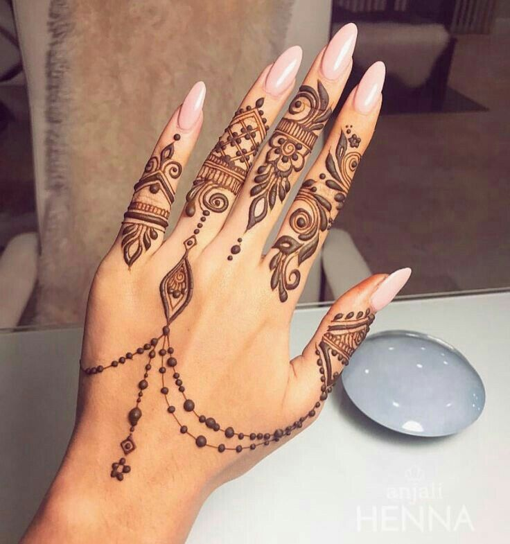 Pin de Aslam en Mehndi designs | Pinterest | Tatuajes, Arte uñas y ...