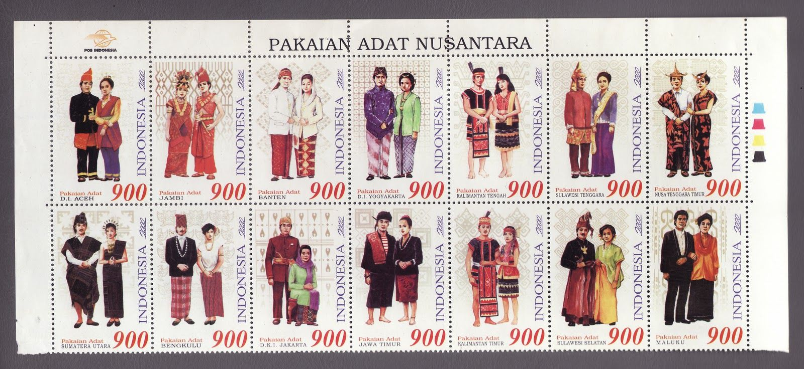 34 Provinsi Pakaian Adat Indonesia