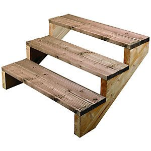 Best Outdoor Wooden Steps Google Search Stairs Stringer 400 x 300