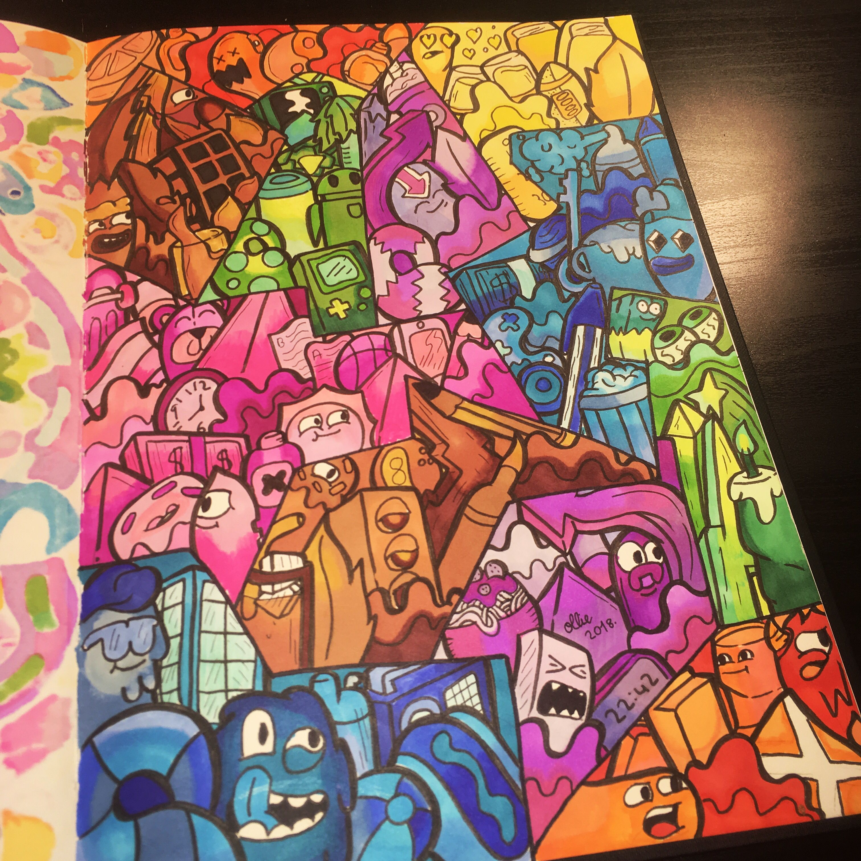 Vexx Art Doodleart Artwork Copic Illustration