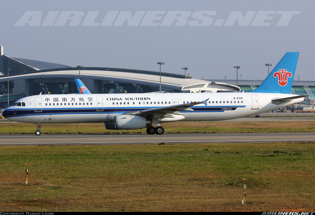 Airbus A321231, China Southern Airlines, B6318, cn 3251