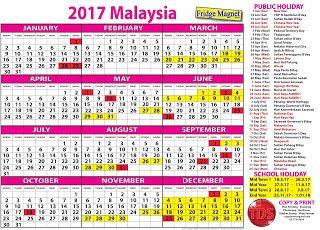 Free Calendar 2017 Malaysia Kalendar Percuma 2017 Malaysia Free Calendar Malaysia Calendar
