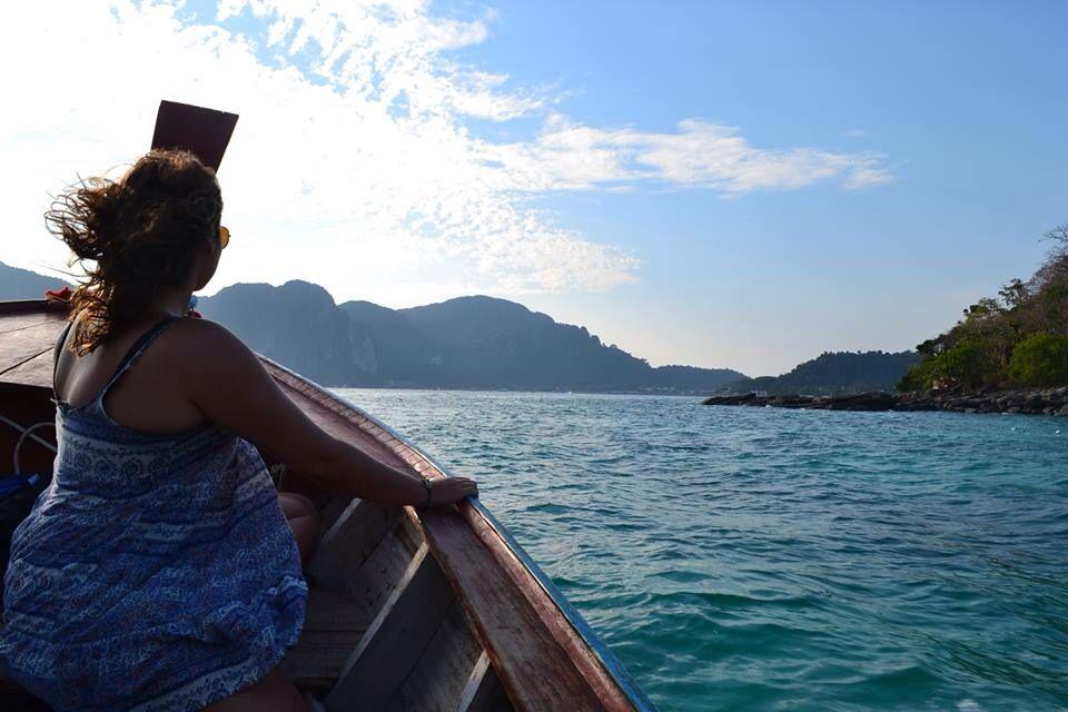 Cruising around Phi Phi Island