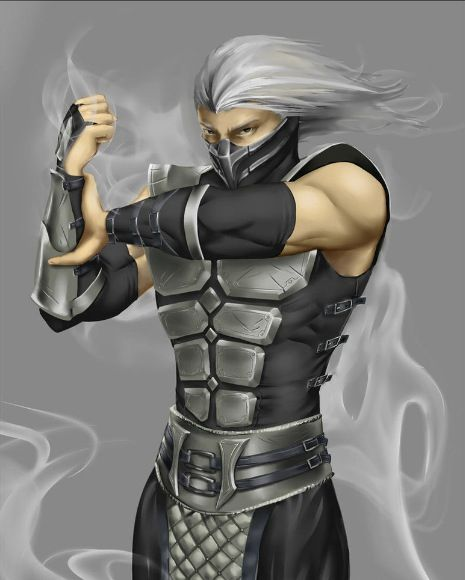 Smoke Mortal Kombat Mortal Kombat Art Mortal Kombat Mortal
