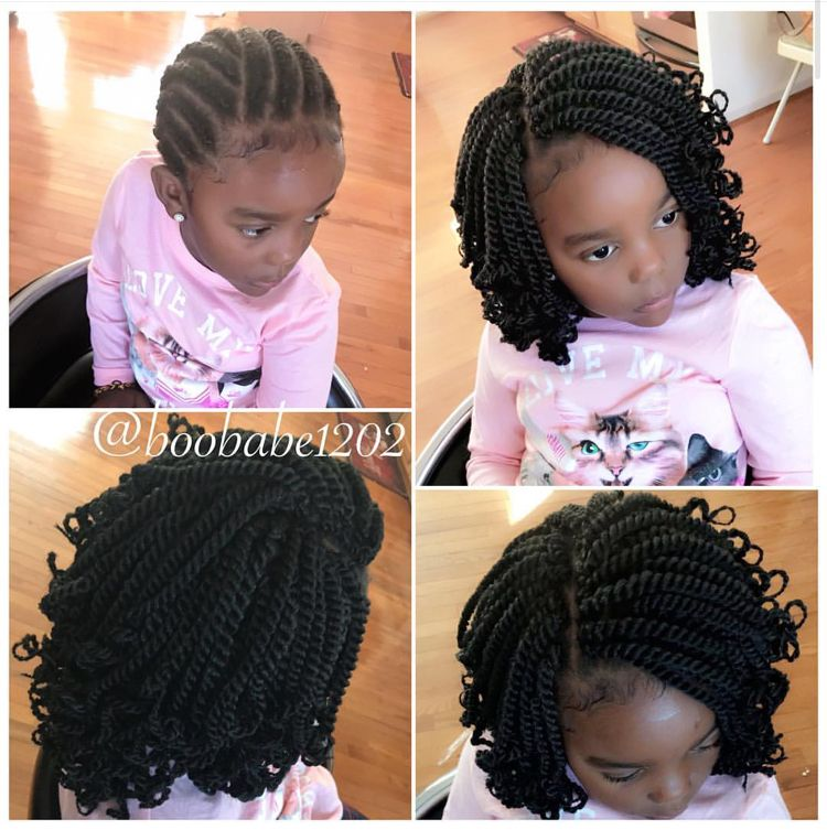 Braid Pattern For Crochets Kids Braided Hairstyles Hair Styles Lil Girl Hairstyles