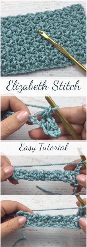 Photo of Elizabeth Stitch Easy Tutorial für Anfänger + Einfache und kostenlose Videoanl…