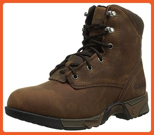 b2e2aa1320939 Rocky Women's RKK0137 Boot, brown, 6 W US - Work and saftey shoes ...