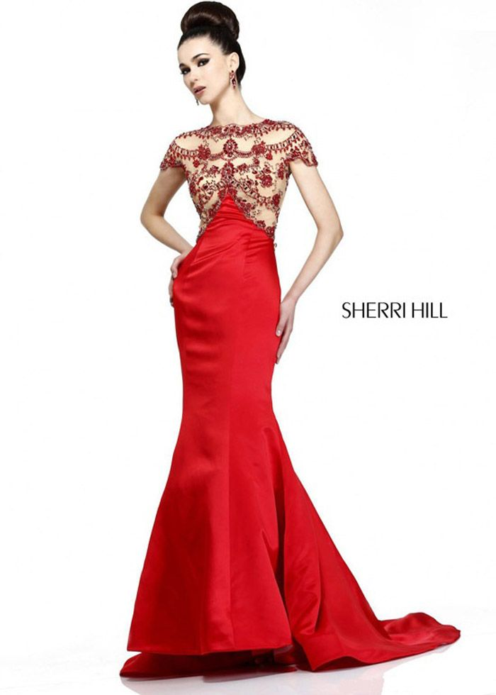 Dorable 2014 Sherri Hill Prom Dresses Festooning - Wedding Dresses ...