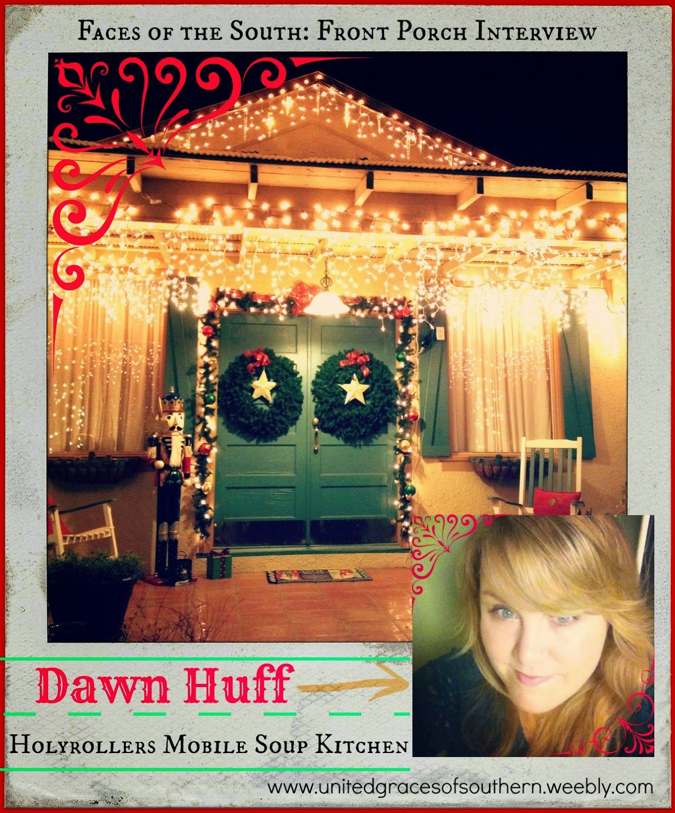 United Graces of Southern: Sunday Edition: Front Porch Interview with Dawn Huff