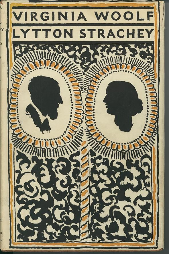 Virginia Woolf And Lytton Strachey Letters Leonard Woolf James Strachey Eds The Hogarth Press With Chatto And Windus London 19 Book Cover Art