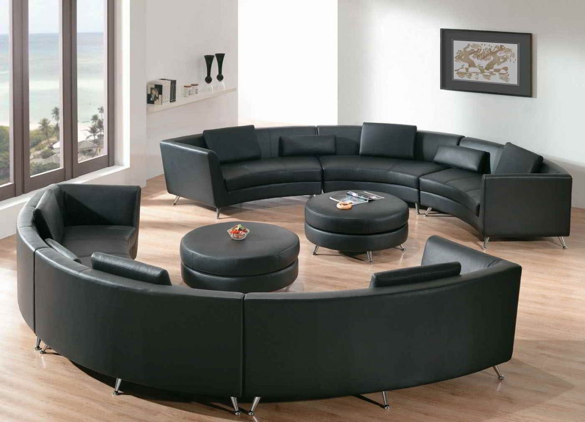 Round Sectional Sofa Best Collections Of Sofas And Couches