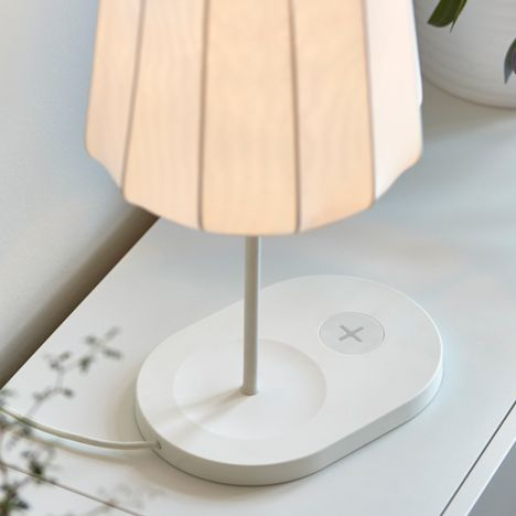 Swedish furniture giant Ikea has incorporated induction charging