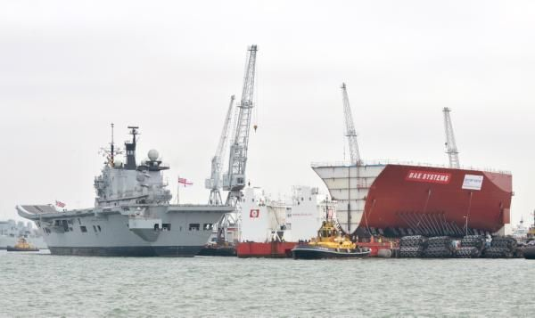 The old and the new carrier 21 May 2012