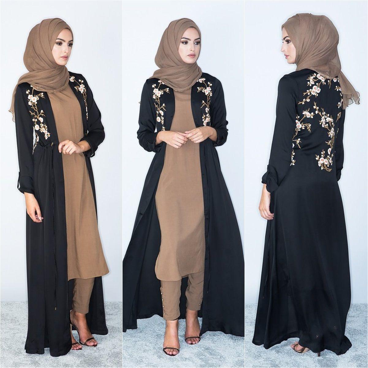 51bcfea7f1463 Beautiful Kimonos By Aab Collections | Hijab Fashion | Hijab fashion ...