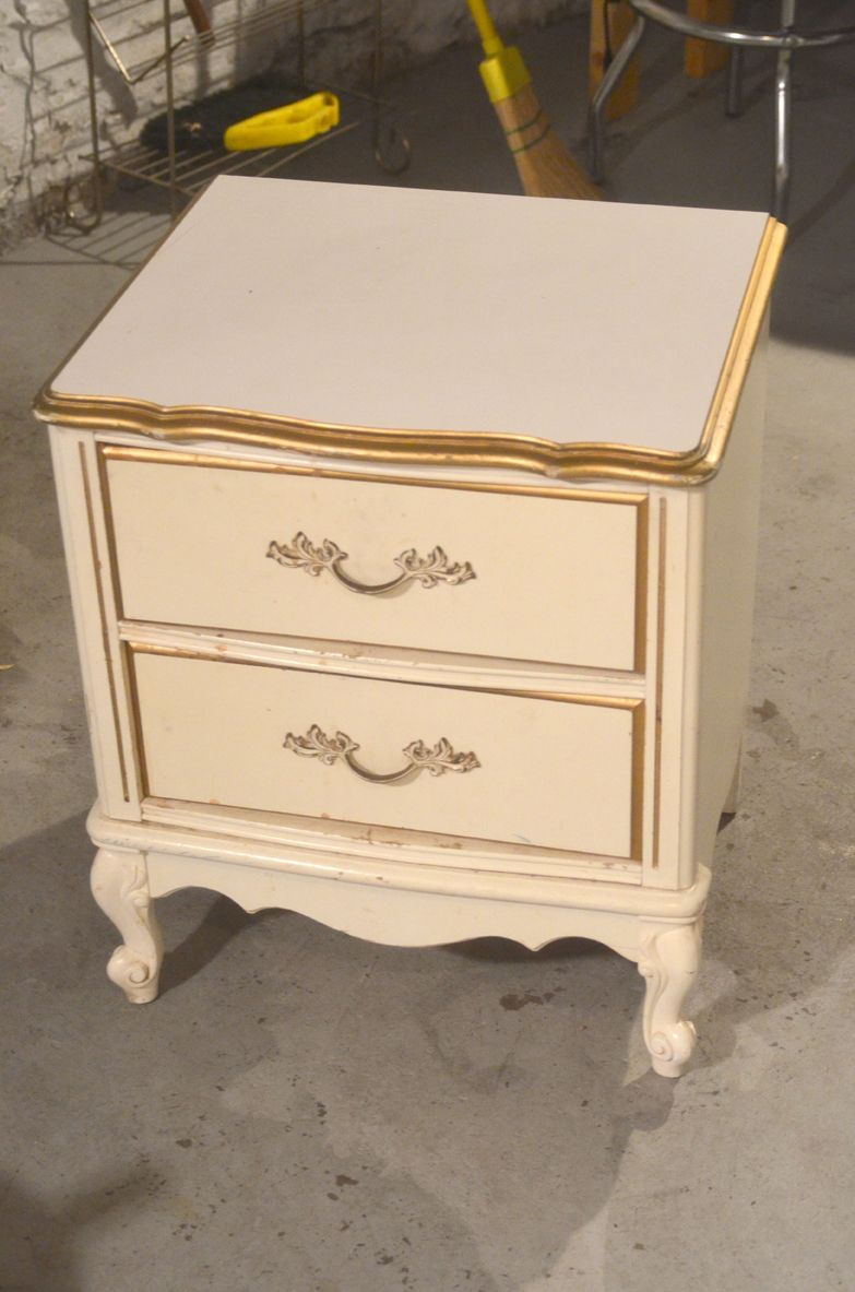 French Provincial Bedroom Furniture Redo french provincial style nightstand - have the nightstands, just