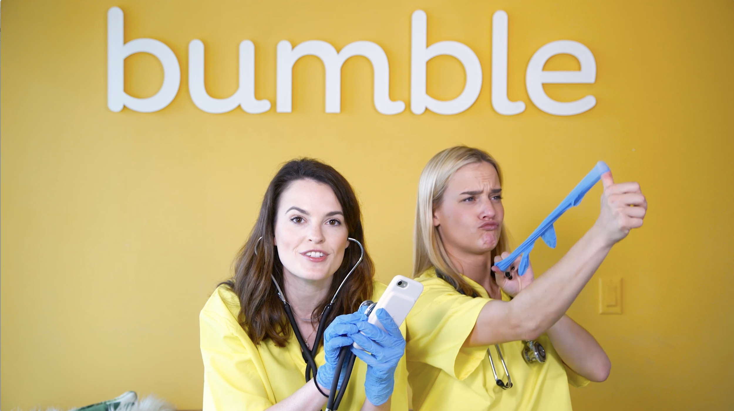 Does your Bumble profile need a checkup? Let Alex and Sam decide.