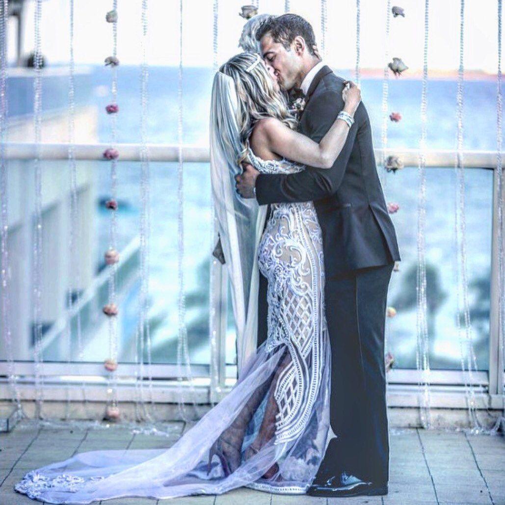 Bohemian Lace Wedding Dress, Unique Wedding Dress, Open Back Wedding ...