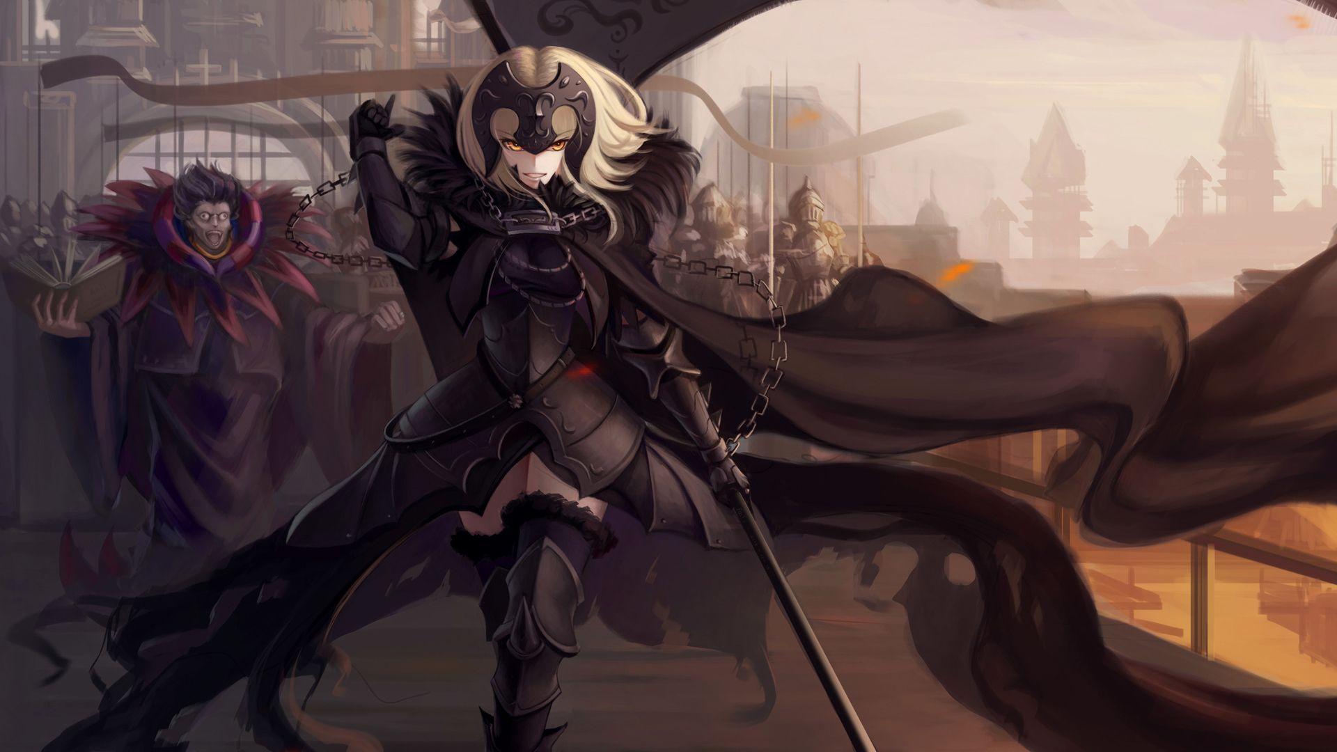 Alter Jeanne D Arc Caster Fate Apocrypha Wallpaper Papel