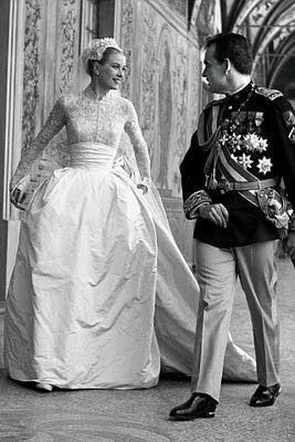 Princess Grace (Wedding Gown by Helen Rose), 1956--I always loved ...