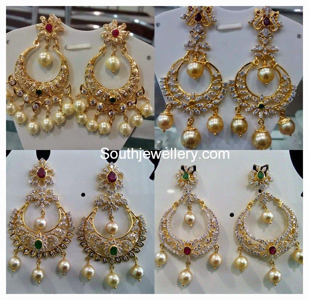 gold chandbali earrings online Google Search chandballi