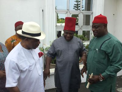 IKOLO: Victor Umeh Denies Rift With Obiano Over Transitio...