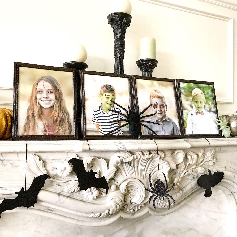 Diy Halloween Mantel Decorations Cute Halloween Mantel