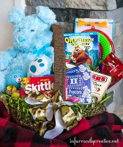 Open season scared silly easter basket unique easter basket ideas open season scared silly easter basket infarrantly creative negle Images