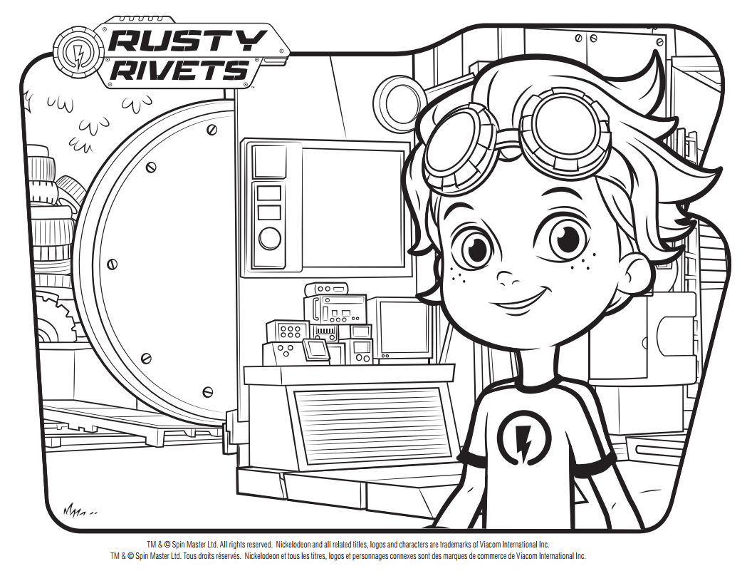 Pin de LMI KIDS en Rusty Rivets | Pinterest