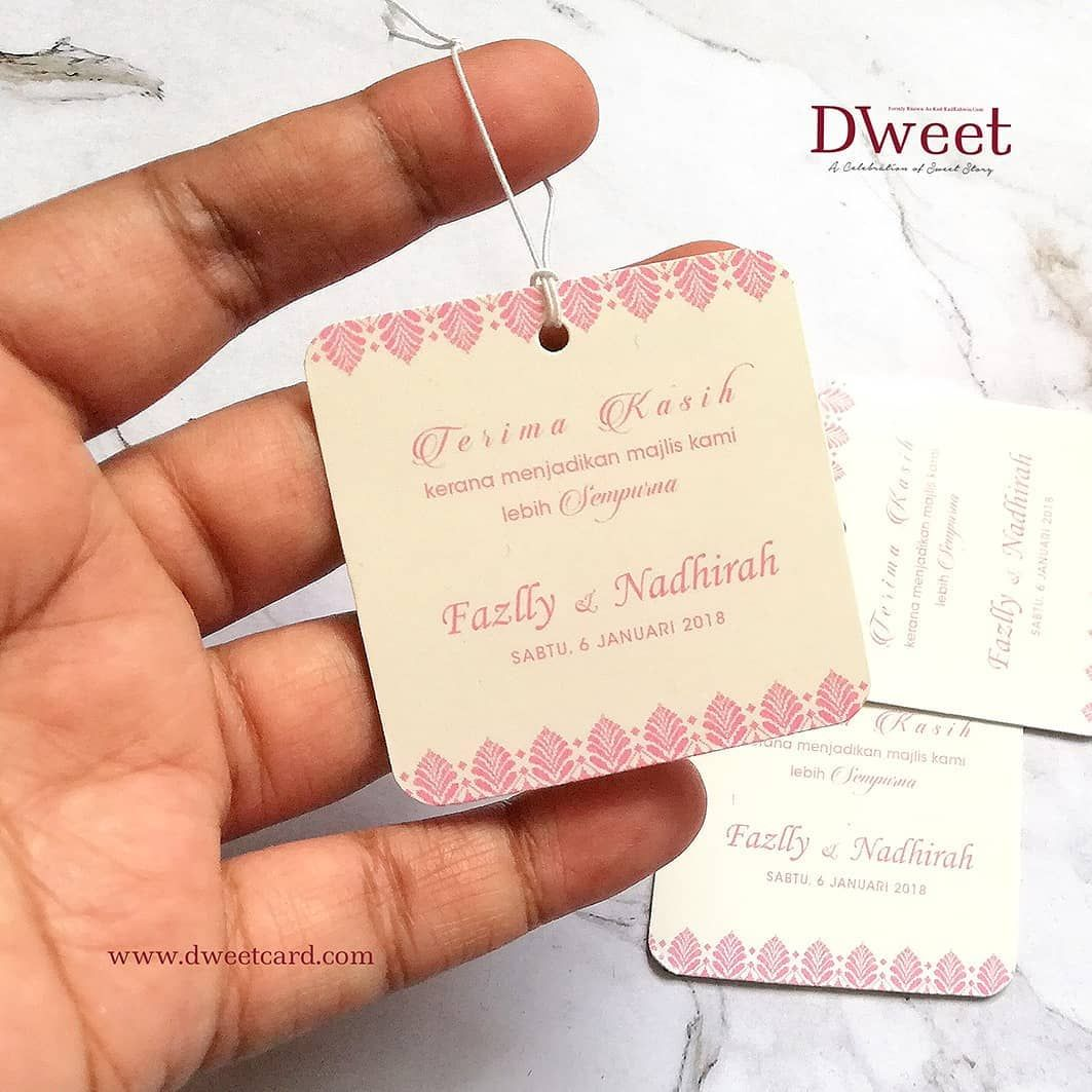 6 Likes 3 Comments Kad Kahwin Bandar Baru Bangi Dweetcard On