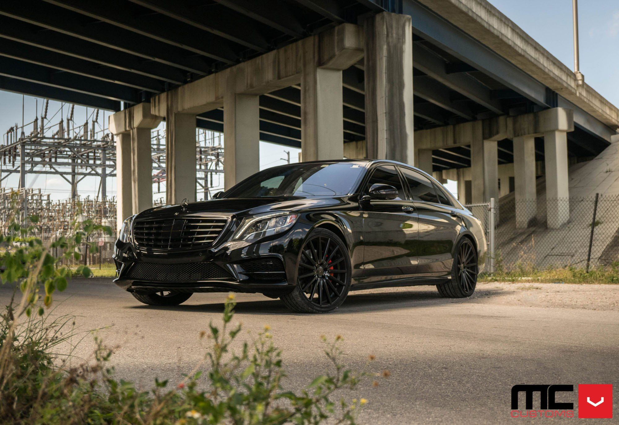 Graceful Custom Blacked Out Mercedes S Class Mercedes S Class S Class Mercedes