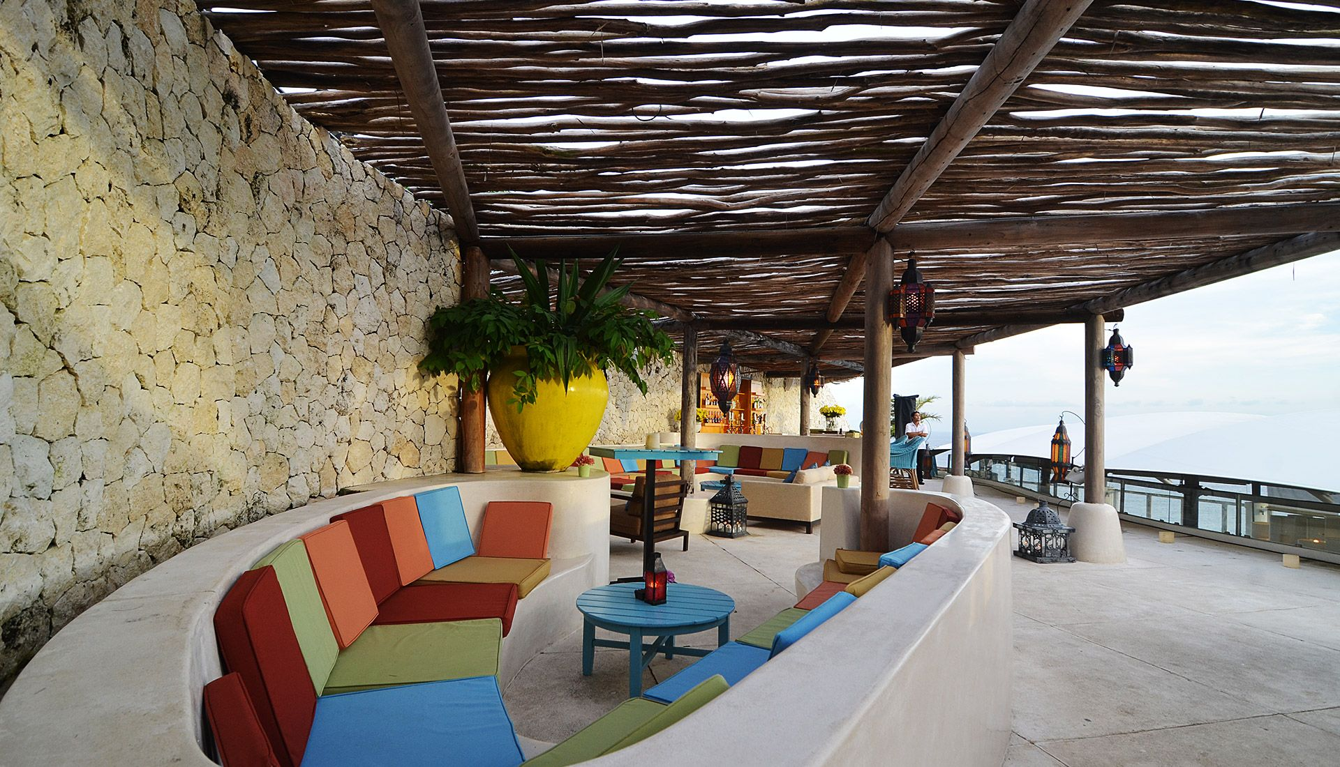 Project Nammos Beach Club - Outdoor Design | Rooftop venue ...