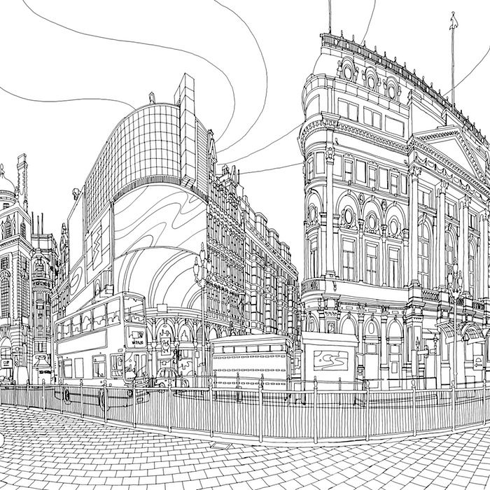 Fantastic Cities The Most Intricate All Ages Colouring Book Yet
