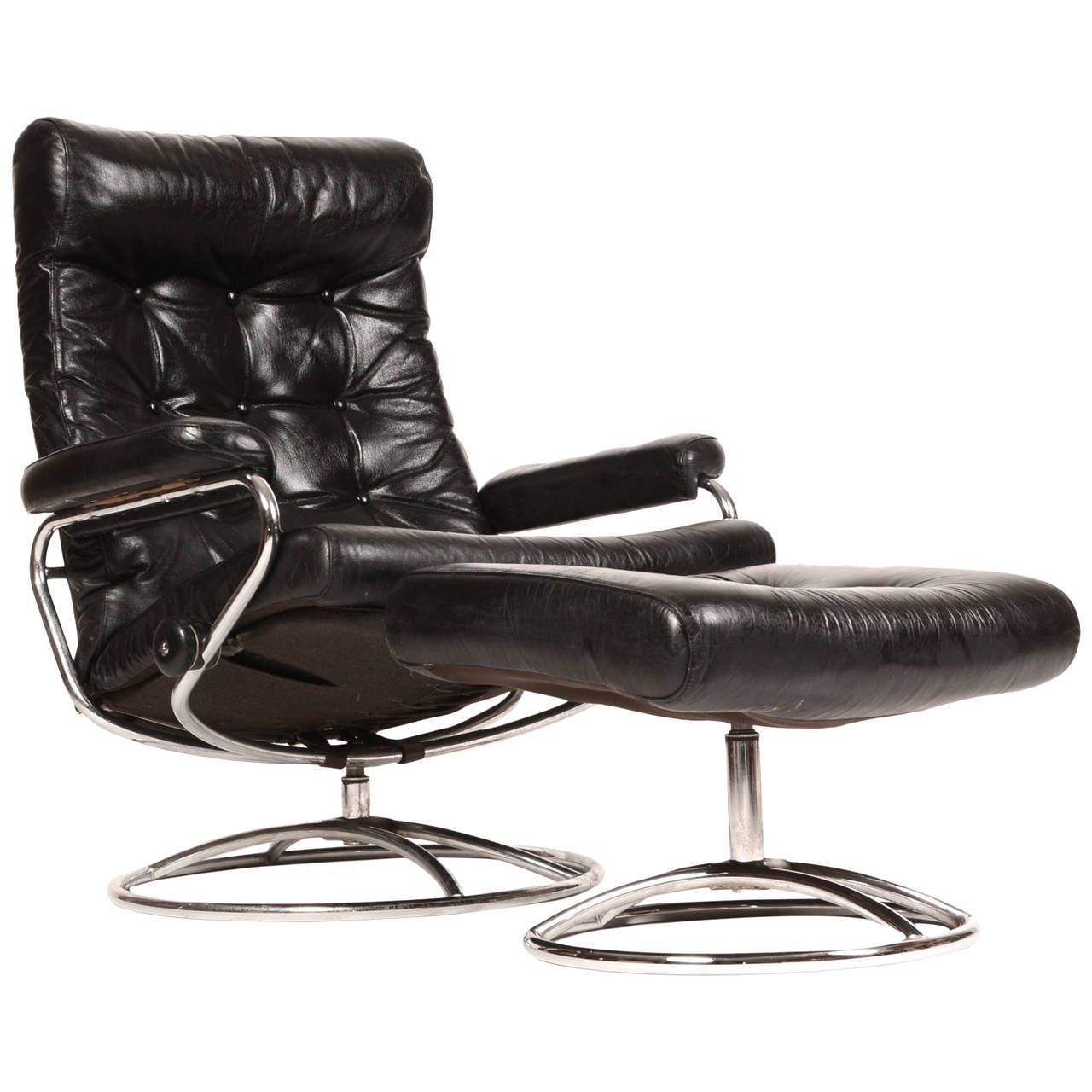 Stressless Chair Similar Target Blue Slipper Reclining Lounge And Ottoman By Ekornes