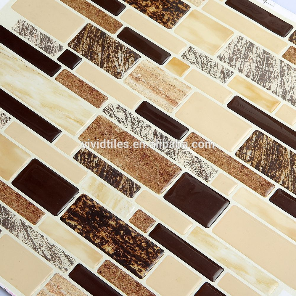 Wholesale Peel And Stick Marble Look Tiles Kitchen Backsplash Wall ...