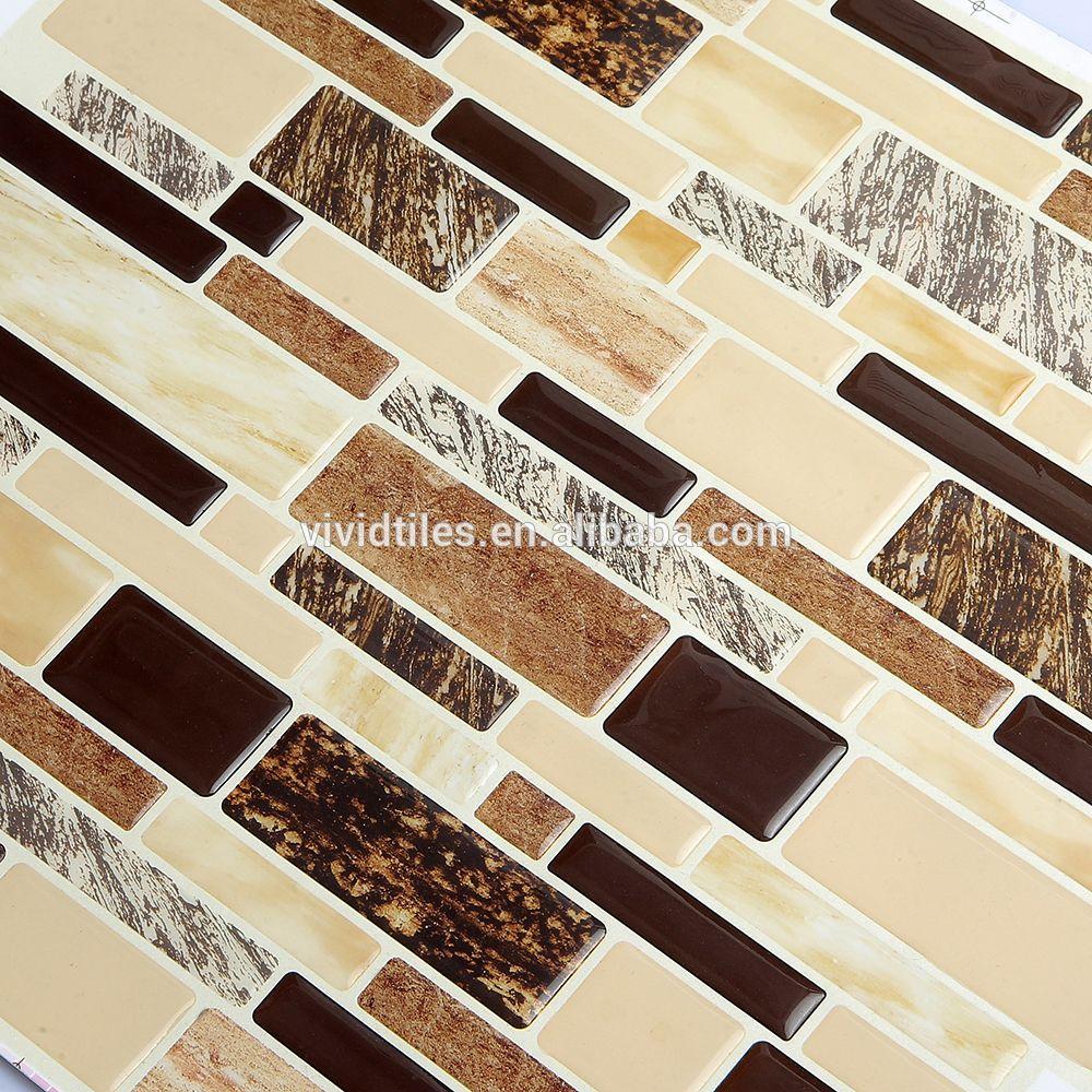 Wholesale Peel And Stick Marble Look Tiles Kitchen Backsplash Wall ...