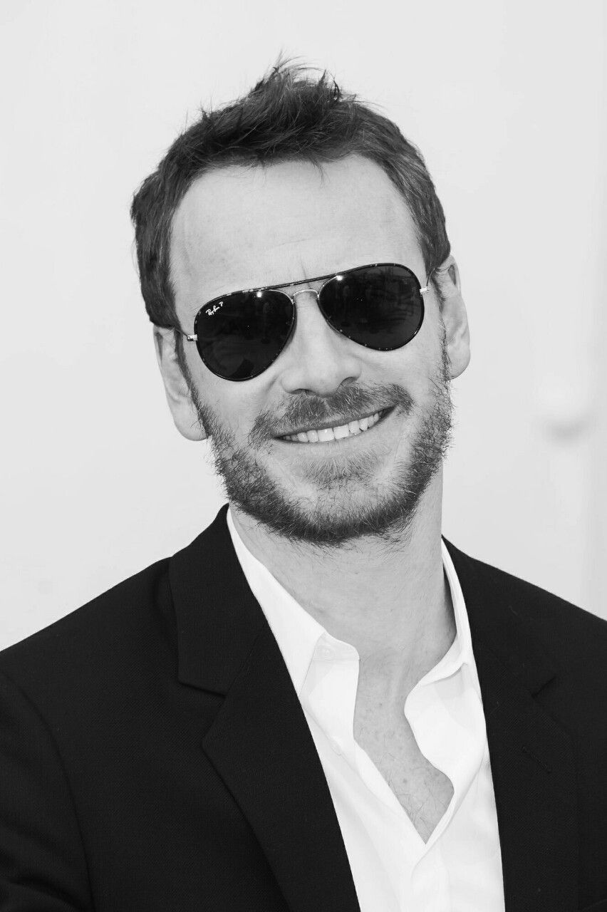Michael Fassbender In Sunglasses At The Cannes Film